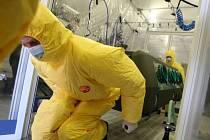Liberečtí chemici při ukázce zásahu.