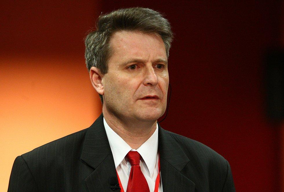 Jeden z kandidátů na předsedu, Stanislav Grospič.