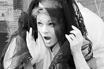SÓLISTÉ NÁRODNÍHO DIVADLA v Praze předvedli divákům při loňské benefici komickou operu Gaetana Donizettiho Don Pasquale. Mladou vdovu Norinu zpívala Marie Fajtová.