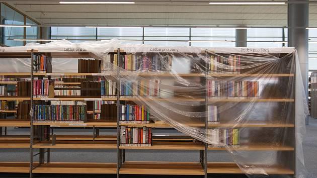 V Krajské vědecké knihovně v Liberci probíhá rekonstrukce.