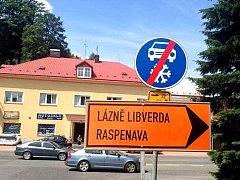 Kvůli opravám v Raspenavě bude uzavřena i cesta do dalších obcí.