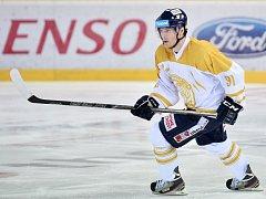 V posledním utkání roku nastoupili hokejisté mistrovského Liberce ve speciální edici dresů. Zlatá barva přinesla štěstí Tygrům i Janu Stránskému, který vstřelil dva góly.