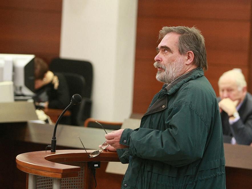 U soudu vypovídal bývalý vězeň Jiří Gruntorád.