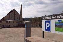 Josefův Důl má nové parkoviště