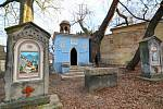 Barokní kaple Božího hrobu u kostela Nalezení sv. Kříže v Liberci.