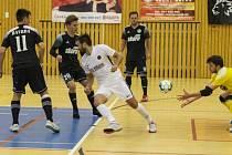 Severočeské futsalové derby mezi Českou Lípou a Libercem skončilo nerozhodně.