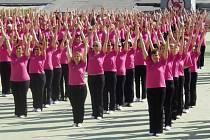 SOKOLSKÉ BRNO. Čtyři tisíce cvičenek a cvičenců, prostě sokolská paráda.
