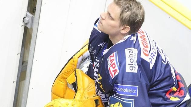 Finský brankář Tero Leinonen.
