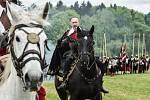 Valdštejnské slavnosti v sobotu i v neděli přilákaly do Frýdlantu tisíce lidí.