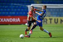Fotbalisté Slovanu se s Viktorkou Žižkov utkali v letní přípravě, kdy vyhráli 4:1.