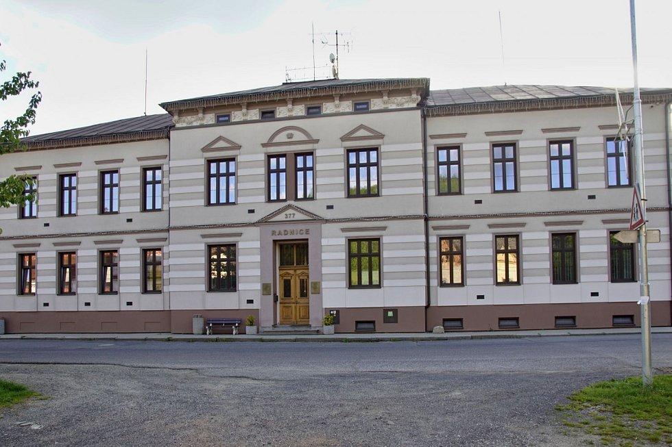 Snížení energetické náročnosti budovy obecního úřadu Skalice u České Lípy.