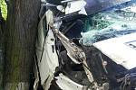 Těžká nehoda u Grabštejna