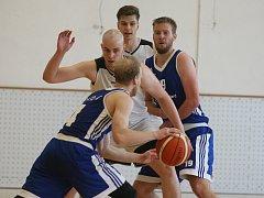 Liberečtí basketbalisté v bílém vypadli se Žďárem n. S.