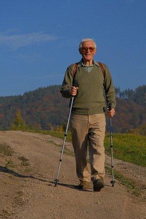 SPISOVATEL Miloš Zapletal dnes slaví 85let.