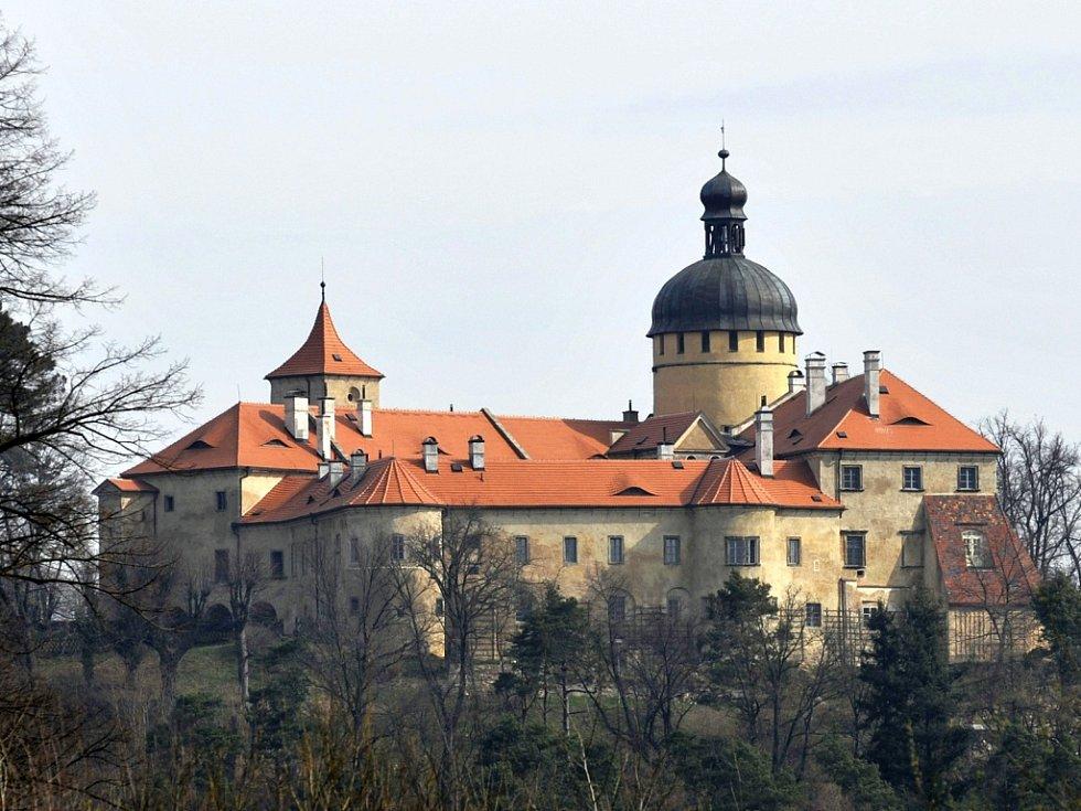Hrad Grabštejn na Liberecku.