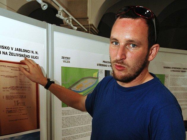 Ivan Rous na jedné z předchozích výstav