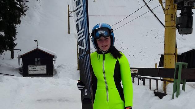 Simona Weinlichová letí na mládežnickou olympiádu