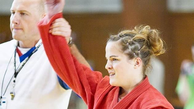 Karate - VÍTĚZKA. Simona Vokurková.