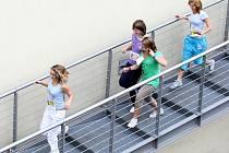 Závod do schodů - Run-Up 2010 v Liberci.