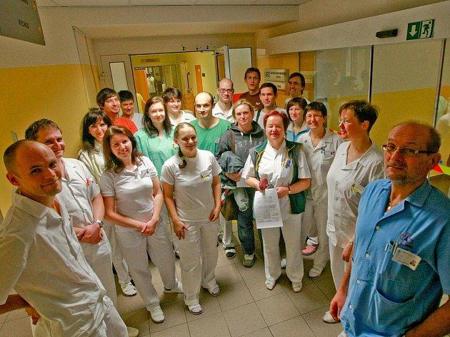 ANESTEZIOLOGICKO–RESUSCITAČNÍ ODDĚLENÍ. V Krajské nemocnici Liberec dali nejvíc výpovědí právě lékaři z ARO.