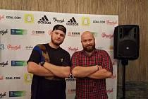Freestyler Lucaso a jeho bratr DJ Skodiss