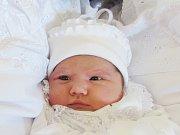 KRISTINA PINZARI Narodila se 22. dubna v liberecké porodnici mamince Natalii Bysmak z Liberce. Vážila 3,54 kg a měřila 49 cm.