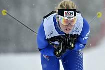SANDRA SCHÜTZOVÁ. Běžkyně z Dukly Liberec vyhrála sprint a na 15 km doběhla třetí.