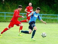 Fotbalisté Frýdlantu sehráli se Mšenem slušnou partii, i když prohráli 1:3.
