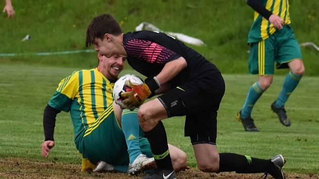 Krajský fotbal na Liberecku - ilustrační foto.