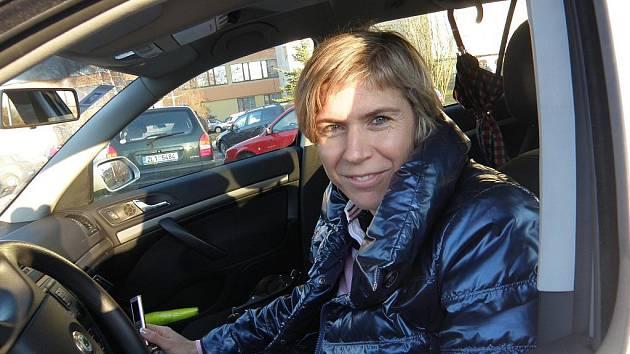 Kateřina Neumannová ve Vesci.