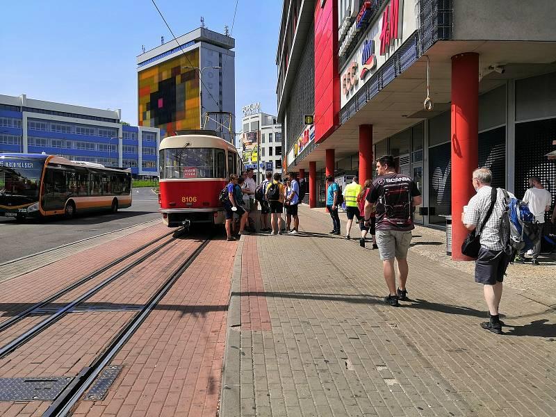 Představení německých tramvají a jízdy historických vozidel v Liberci.
