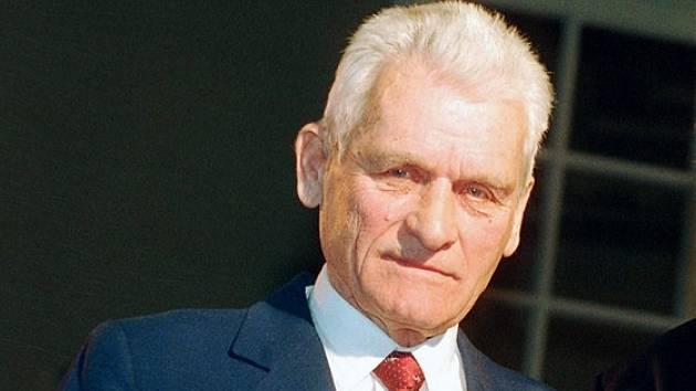 Olympijský vítěz z Moskvy František Havránek.