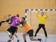 Házenkáři Liberec Handball remizovali ve II. lize s Mladou Boleslaví 24:24.