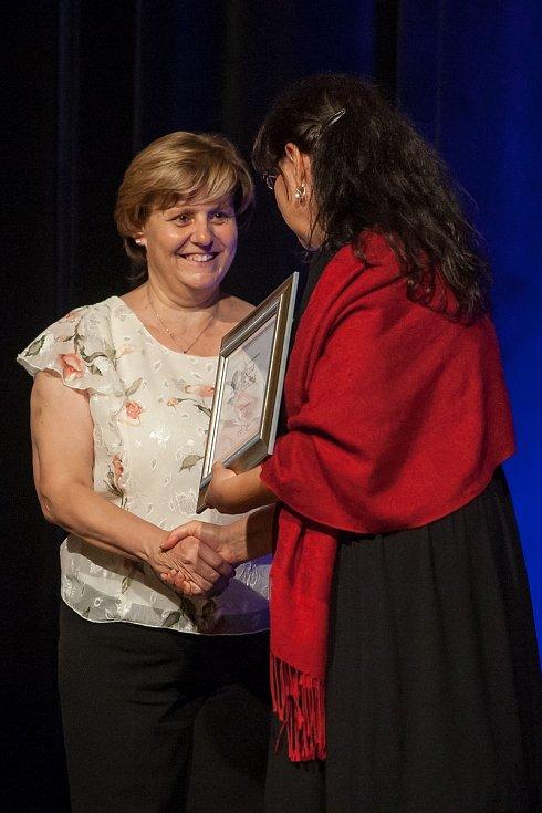 Titul Pečovatelka roku Libereckého kraje byl vyhlášen 2. října v Liberci. Na snímku je Anna Rečná.