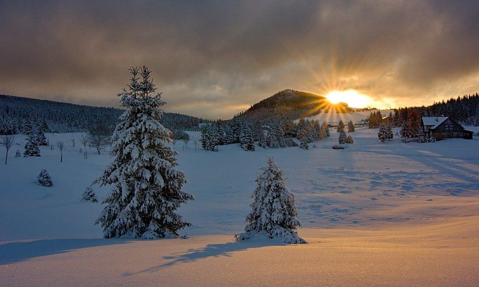 Svítání na Jizerce
