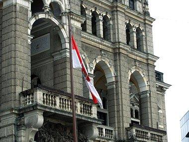 Liberecká radnice. Ilustrační foto.