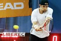BENJAMIN BECKER. Německý tenista opět podpoří Liberec na jeho pouti v extralize.