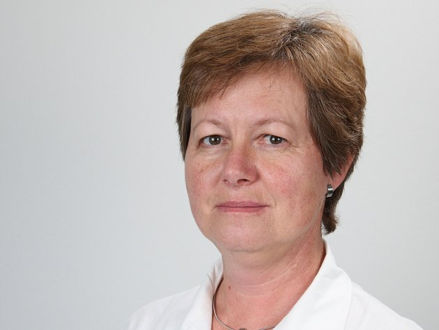 Primářka transfuzního oddělení KNL MUDr. Renata Procházková.