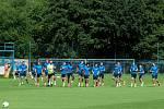 Fotbalisté Liberce zahájili letní přípravu.