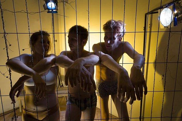 CELA. Nová inscenace Divadla F. X. Kalby, ve které vzpomínají na své zatčení vlednu kvůli sprejování.