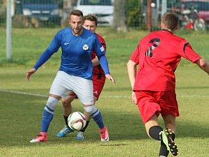 Fotbalová I. B třída: Vesec - Chrastava B 1:2 (0:1)