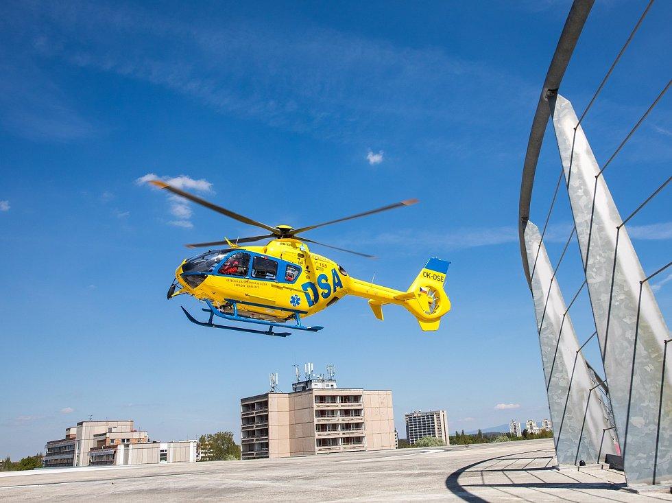 Ilustrační foto. Vrtulník