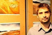 V Jablonecké Galerii M Technické univerzity Liberec, vystavují fotografie Maroše Tunáka. z cest po Islandu.