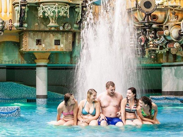 Centrum Babylon. Aquapark. Ilustrační snímek.