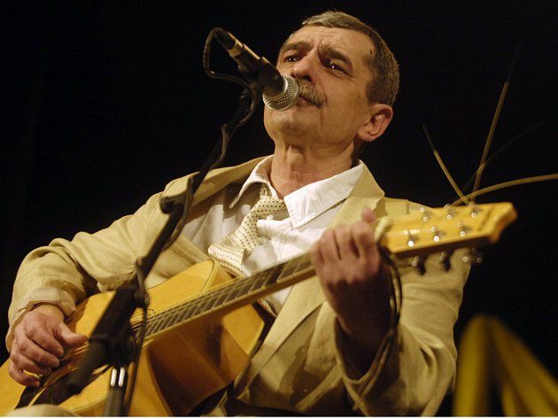 Písničkář Pavel Dobeš. Foto: ČTK