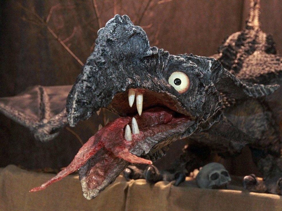 Výstava draci a drakobijci v Liberci.