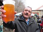 Asi tři sta lidí nahlédlo do areállu pivovaru