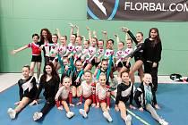 Sport aerobic Liberec získal na turnaji celkem 7 cenných kovů