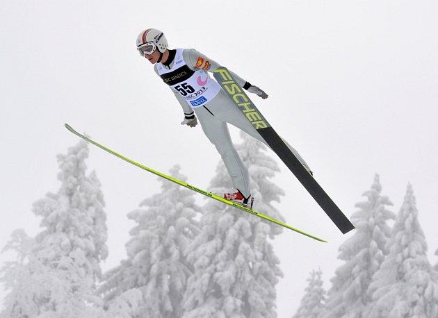 Skoky na můstku HS100 Tomáš PORTYK (CZ)