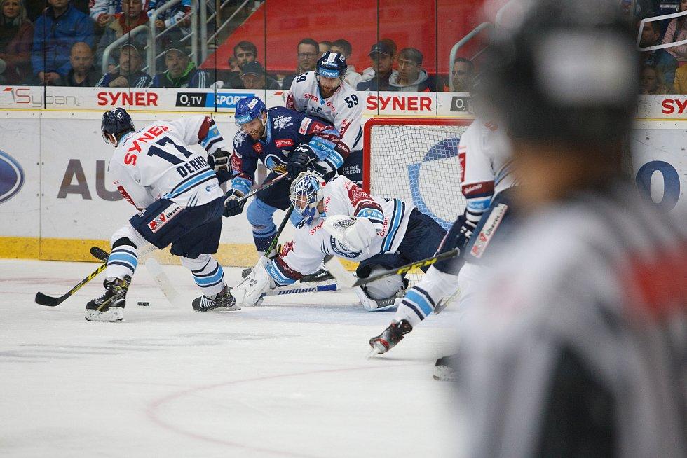 20. kolo extraligy ledního hokeje mezi HC Bílí Tygři Liberec a HC Rytíři Kladno.